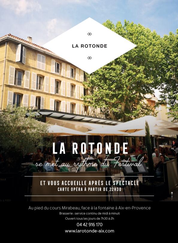 Rotonde Festival Aix art lyrique