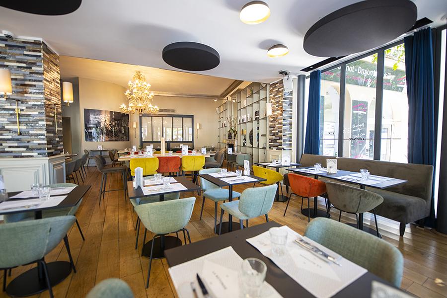 La salle - La Rotonde - Restaurant Aix-en-Provence