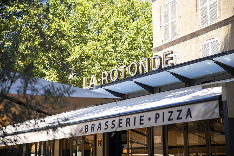 La façade du restaurant - La Rotonde - Restaurant Aix-en-Provence