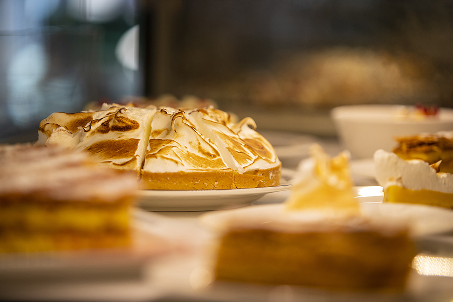Tarte au citron meringuée - La Rotonde - Restaurant Aix-en-Provence