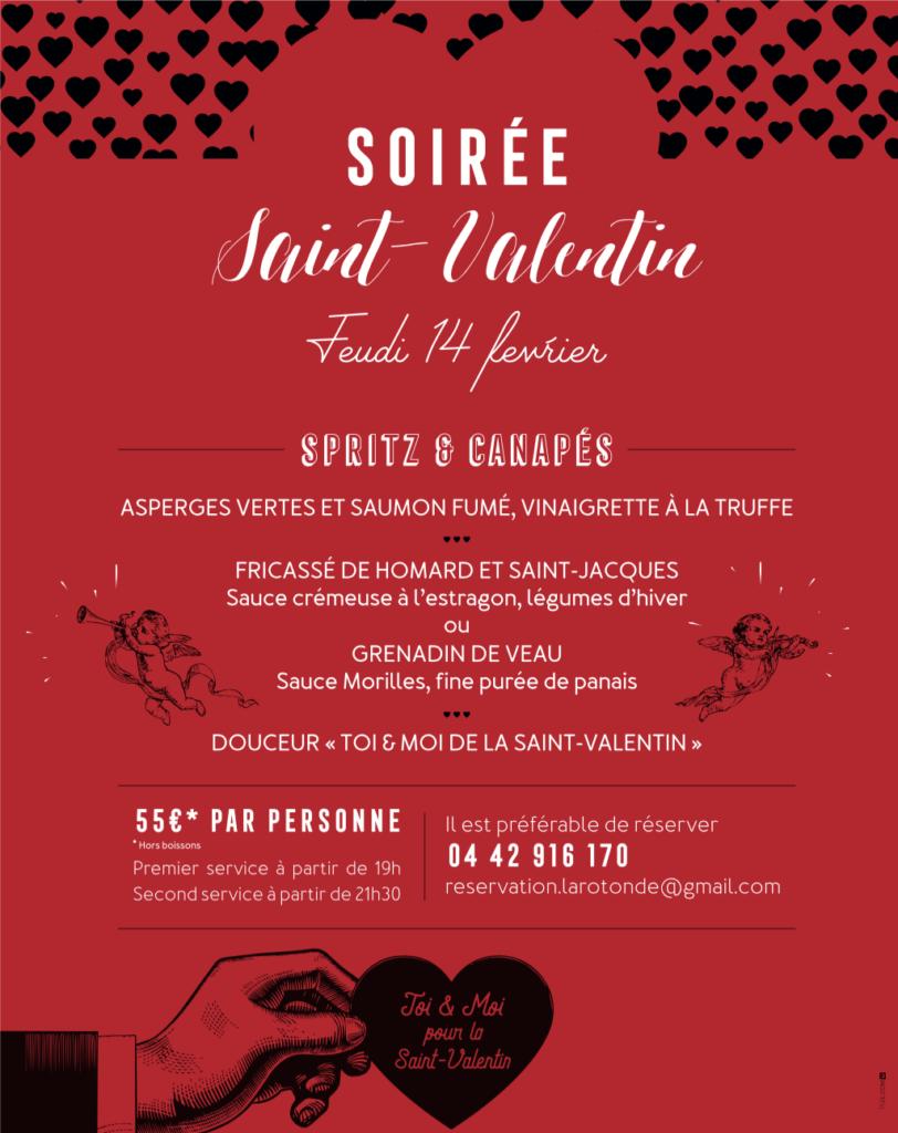 St Valentin - La Rotonde - Aix-en-Provence