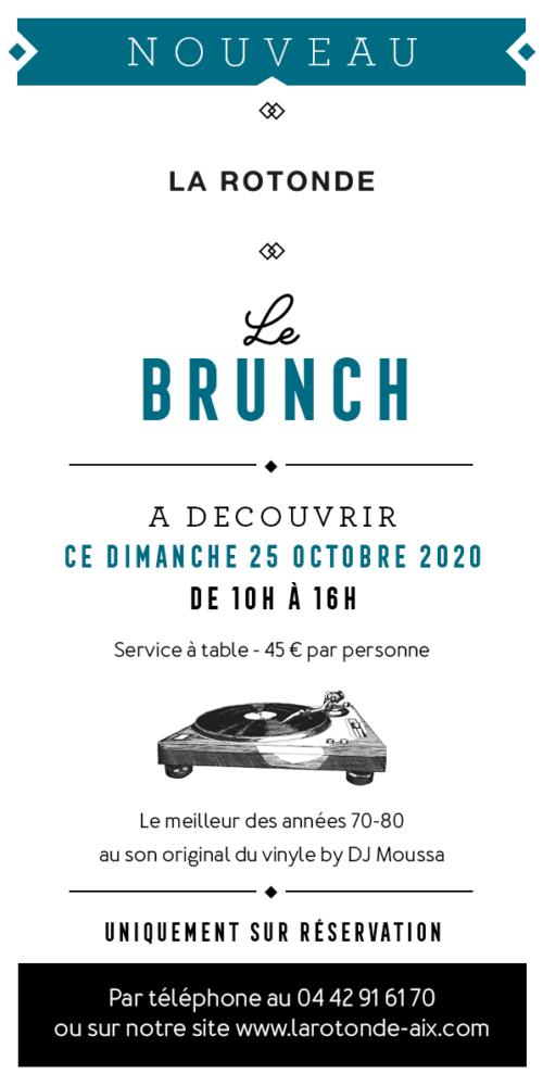 Brunch La Rotonde Aix en Provence