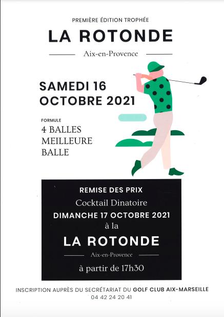 Trophée La Rotonde - Golf - Octobre 2021