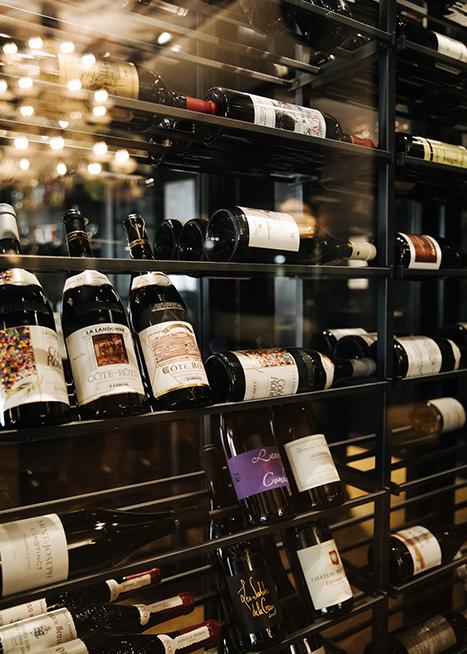 Notre cave a vin - La rotonde
